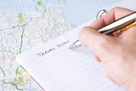 Plannen van een reis