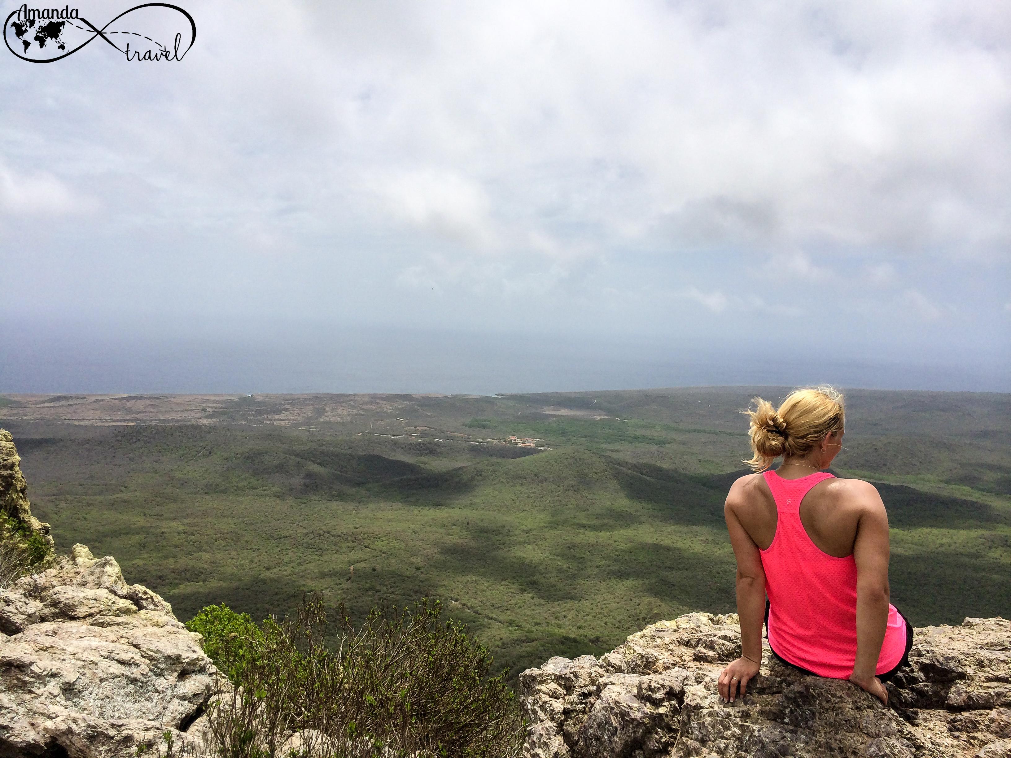 Curacao, Beklimmen Christoffelberg