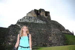 Xununtunich Belize Mayatempel