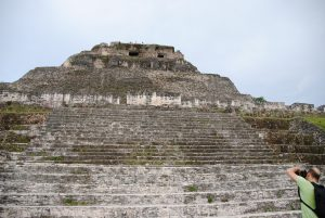 Xunantunich Mayatempel Belize midden Amerika