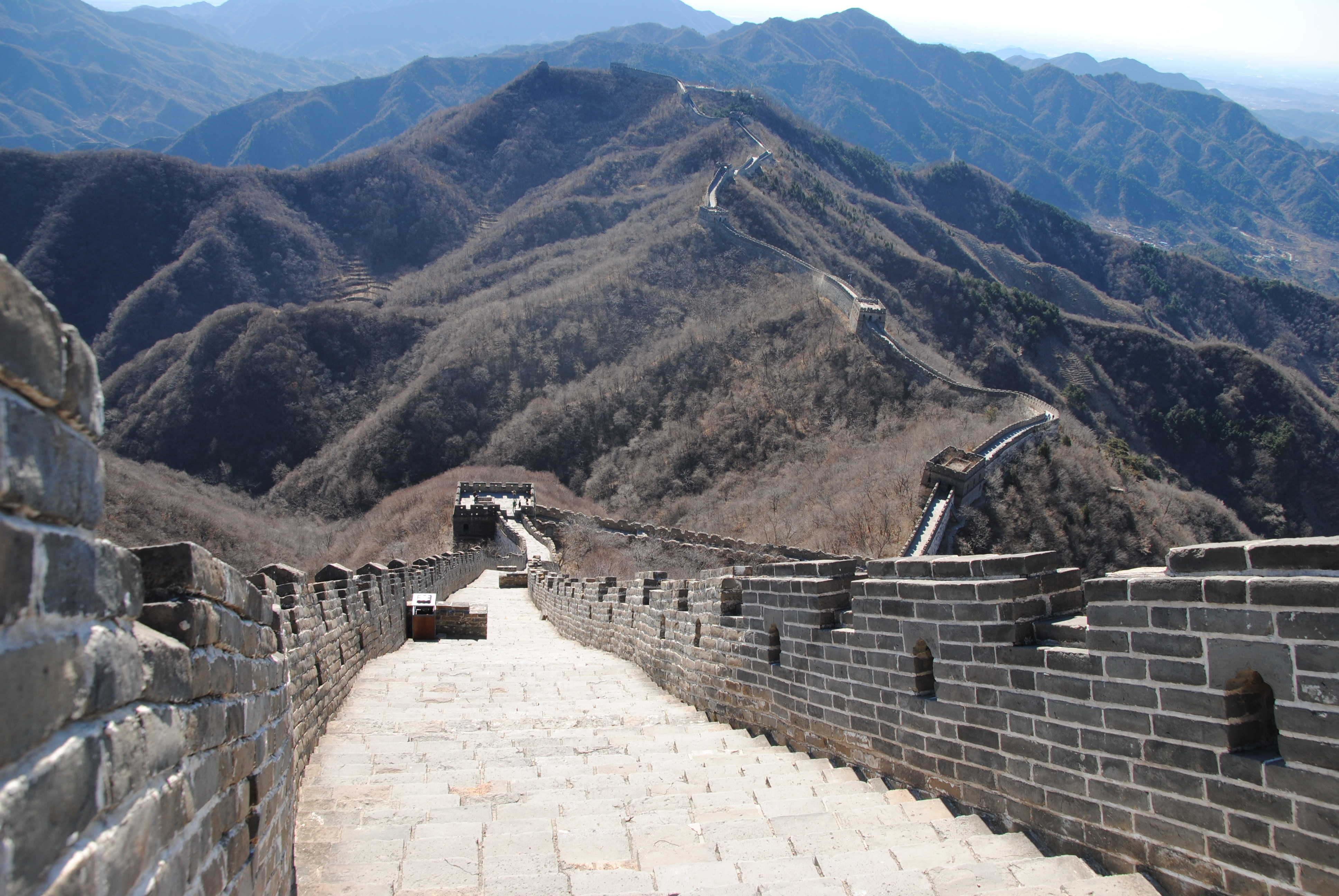 Mutianyu, hiken op de Chinese muur!