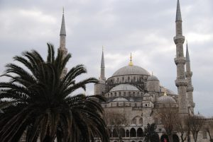 Blauwe moskee Istanbul Turkije