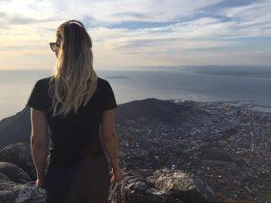 uitzicht Tafelberg Zuid Afrika