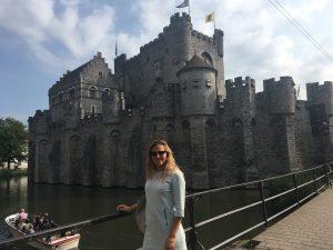 kasteel Gravensteen Gent, België