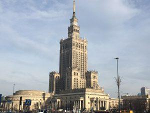 Paleis van Cultuur en Wetenschap Warschau, Polen
