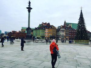 Starego Miasta Warschau, Polen oude stad