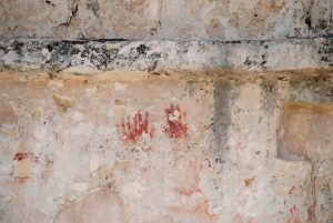 Handen Mayatempel Tulum Mexico