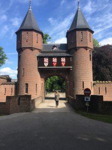 Kasteelpoort Haarzuilens Nederland