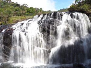Horton Plains, Sri Lanka waterval