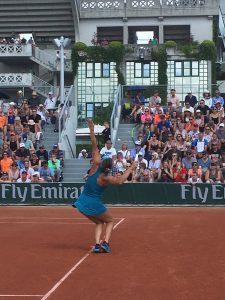 Roland Garros Dames enkel tennis