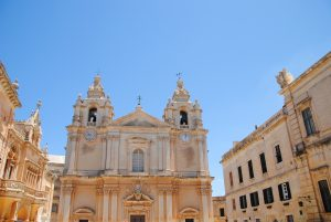 Kerk in Rabat Malta - Game of thrones
