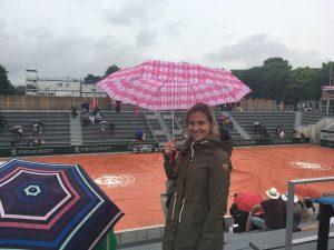 regen op Roland Garros