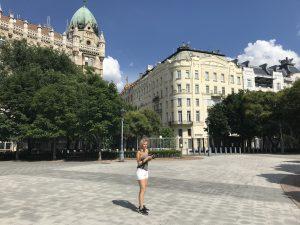 stad van Boedapest Hongarije