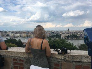 Burcht van Boeda in Boedapest Hongarije