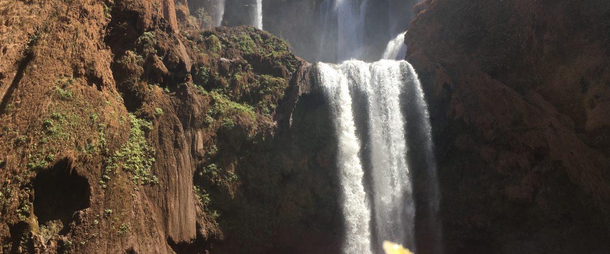 Ouzoud watervallen, een sprong in het diepe