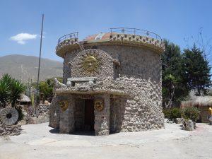 Ecuador inca tempel
