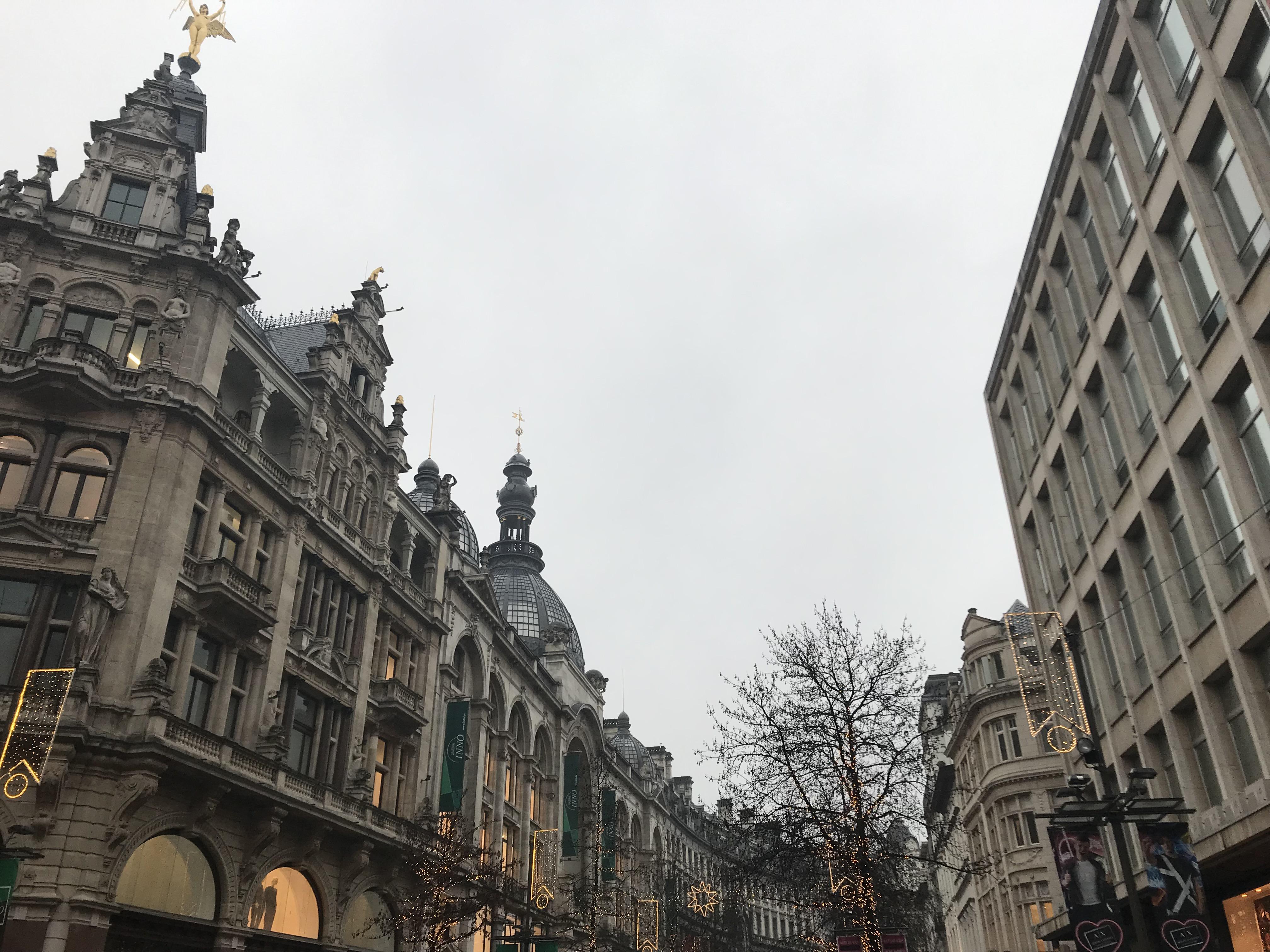 Ronddwalen in Antwerpen