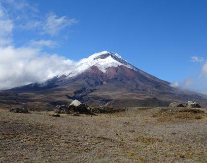 Indrukwekkend Andes-gebergte, Ecuador