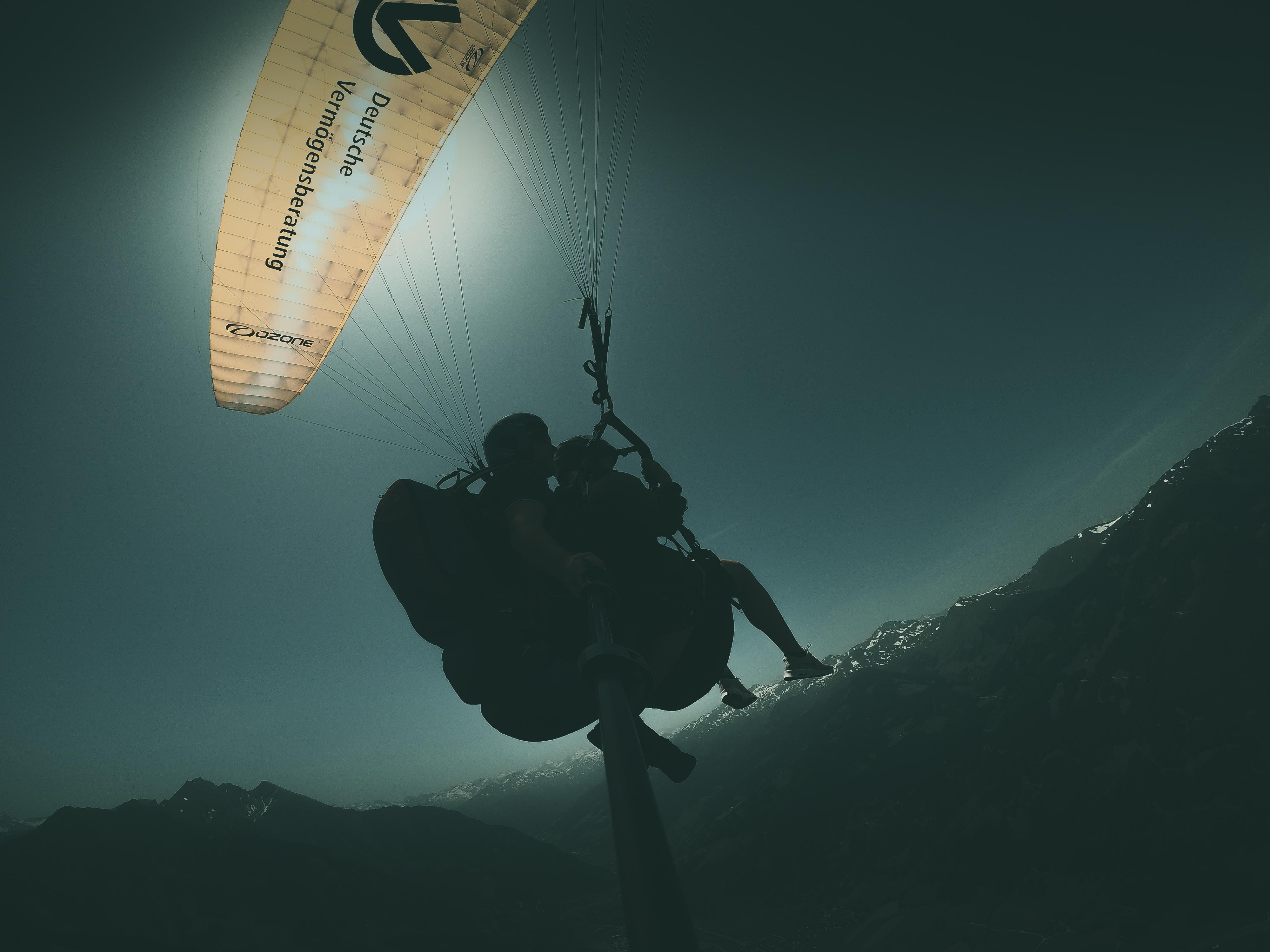 High on life, Paragliden in Dorfgastein