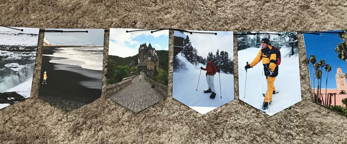 Fotoslinger met al je favoriete reisplaatjes?! Dat kan!