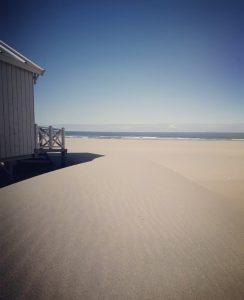Chalet aan het strand