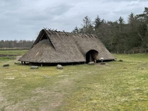 Oude boerderij IJstijd